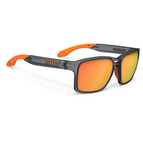Rudy Project Spinair 57 - Lunettes cyclisme - gris/orange